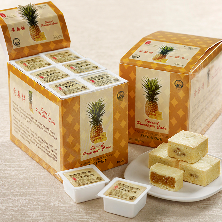 Yue Yan Special Pineapple Cake 24pcs (Economy Pack) New Packing