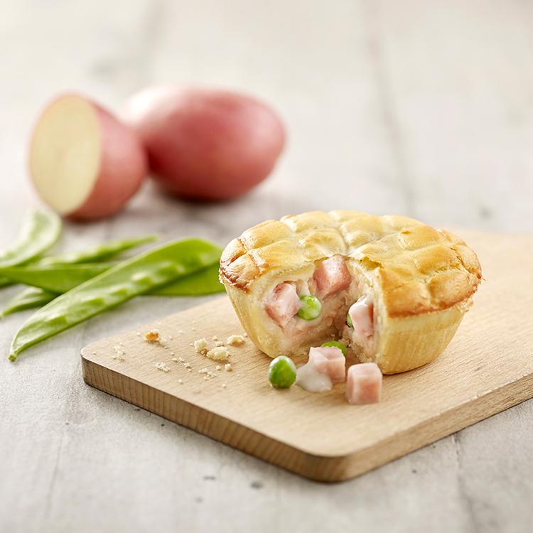 Extra-Filling Chicken Ham Potato Pie (Frozen)
