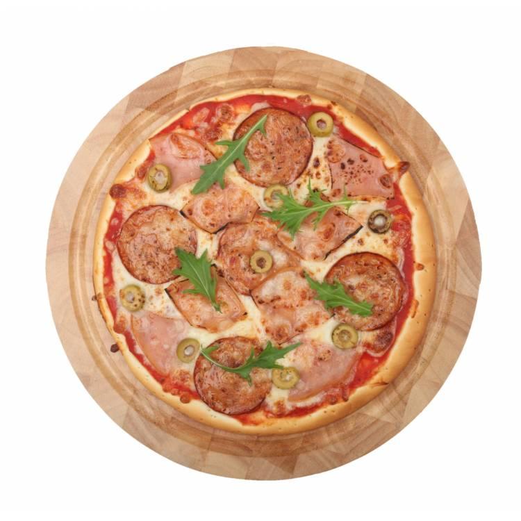"""6"""""""" 3-Meat Pizza  (Frozen)"""